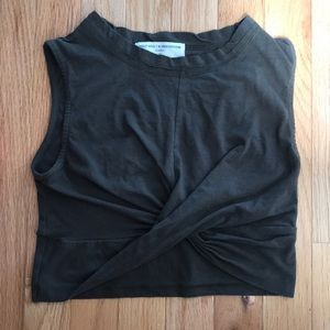 Project Social T Cotton Crop Top